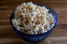 KETTLE CORN WITH THYME