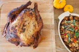 thanksgiving recipes brined turkey