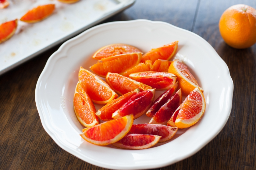 Roasted Blood Oranges Recipe