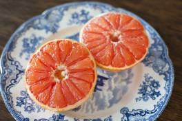 Roasted Grapefruit with Honey and Cinnamon Recipe