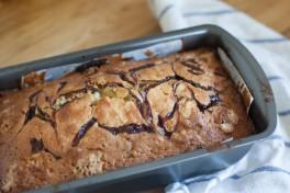 Bourbon Chocolate Banana Pound Cake Recipe
