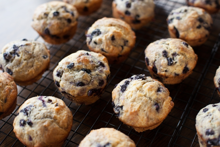 Brown Butter Blueberry Muffins Recipe