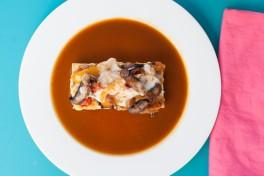 Portobello Mushroom French Dip Sandwiches Recipe