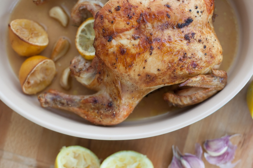 Roasted Chicken with Lemon, Garlic and Herbs Recipe