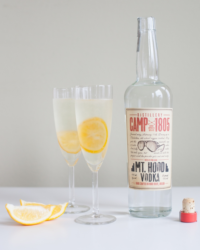 CANDIED MEYER LEMON FRENCH 75